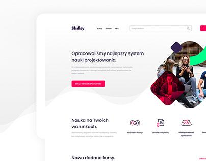 Online Courses Platform - Web Design
