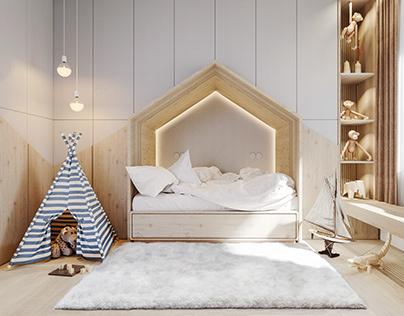 Small apartment- Scandinavian spaces