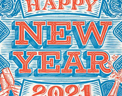 HAPPY NEW YEAR // FELIZ AÑO NUEVO 2021