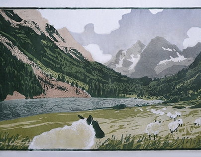 Large Woodblock Prints
