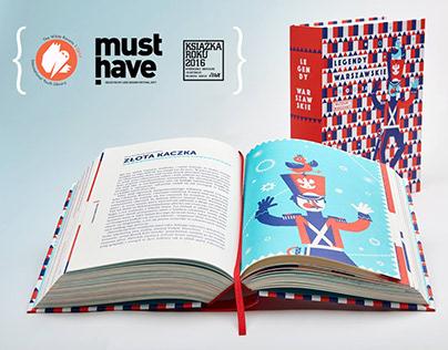 WARSAW LEGENDS book design & illustrations 2016