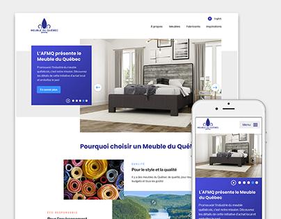 Meubles du Québec - Site web