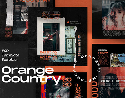 Orange Country - Social Media Pack