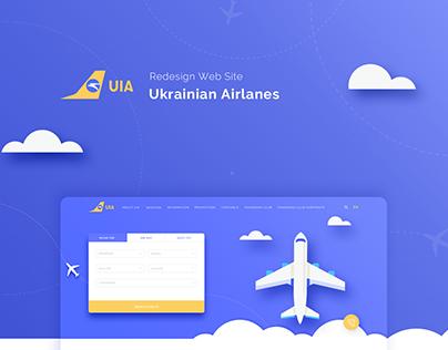Redesign Website UIA