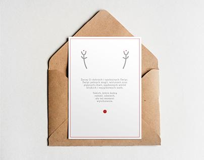 Minimalistyczne i nowoczesne kartki z życzeniami
