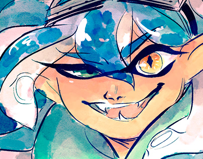 Collection of Splatoon icons