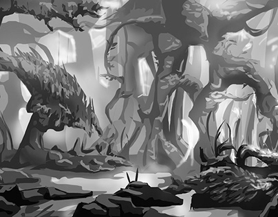 Black And White Environments