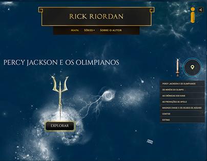 Rick Riordan Website