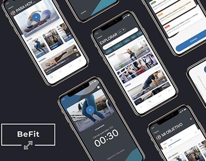 UX / UI - BeFit App