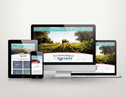 Fish Creek Website and Graphic Design