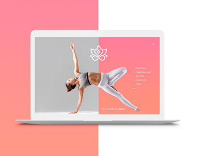 All you need is YOGA branding
