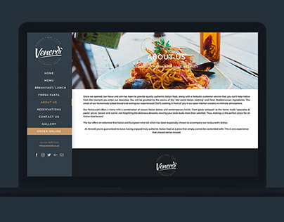 Venerdi UI Design & Website Development
