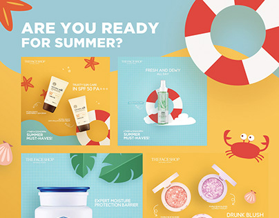 The Face Shop: Summer 2018