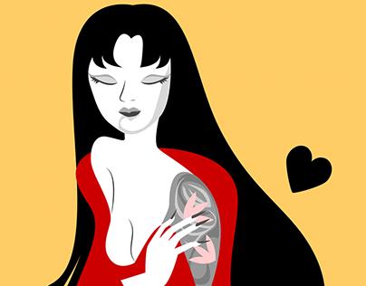Vanessa the Geisha
