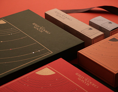 Christmas Chocolate Package Design