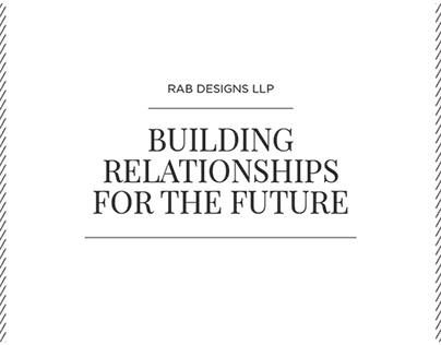 RAB Catalogue Design