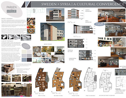 Cultural Convergence Project 2016 RIT Interior Design