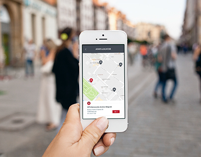 Mobile app ATM'S Locator