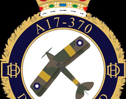 DH Tiger Moth A17-370 Badges