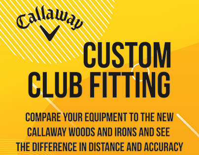 Callaway Club Fitting Graphic