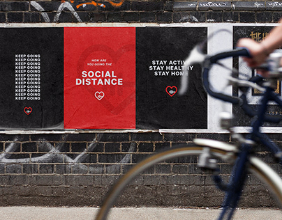 Going the Social Distance - Campaign Branding