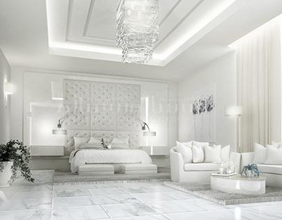 Luxury Master Bedroom Interior Design in Dubai UAE