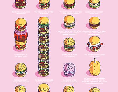 Famous Movie & TV Burgers
