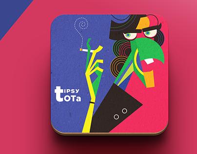 Tipsy Tota [Spice Infused Beers] Branding + Packaging