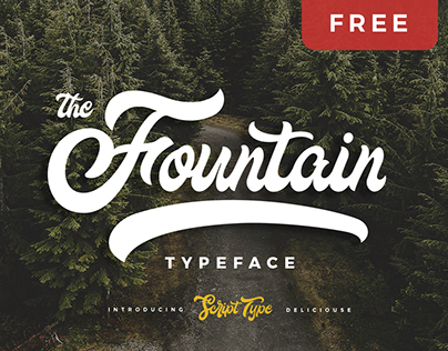 FOUNTAIN - FREE FONT