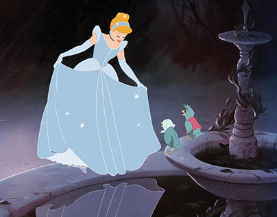 """Cinderella"" title Sequence."