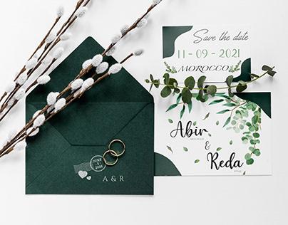 Wedding Invitation - Abir & Reda
