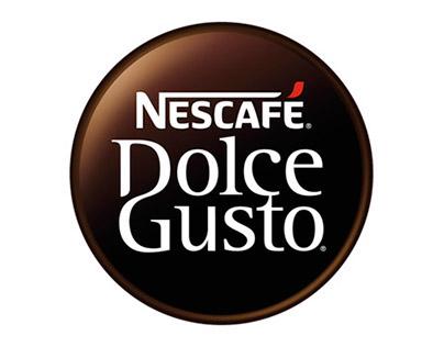 Campaña gráfica Nescafé Dolce Gusto.