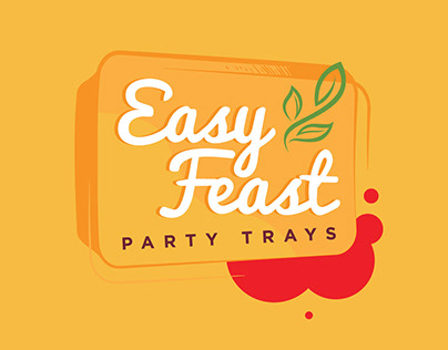 Easy Feast Party Trays Branding