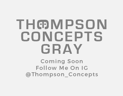 Thompson Concepts Gray Poster