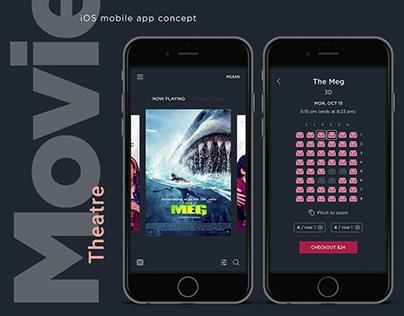 Movie Theatre Mobile App