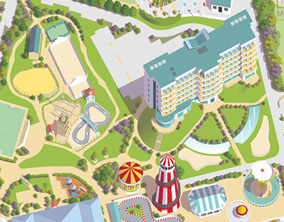 Resort maps for Butlins