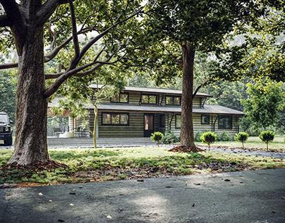 Cottage Cgi