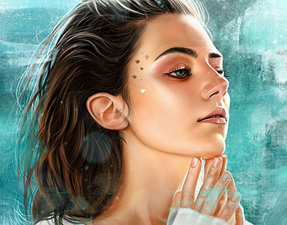 Procreate painting Amelia Zadro