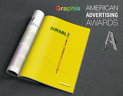 "Ticonderoga - ""The World's Best Pencil"" 3 page campaign"