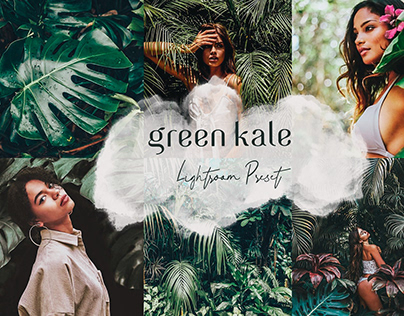 Green Kale Lightroom Preset