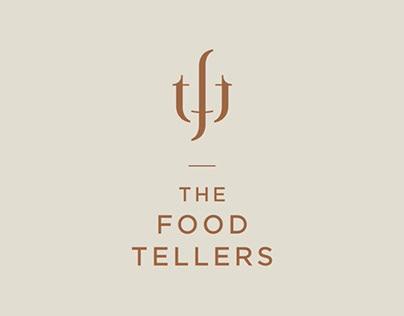 The food tellers  - branding