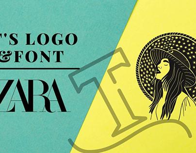 The Logo Font Of Zara