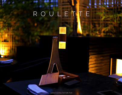 Roulette - Outdoor Lamp for Bars
