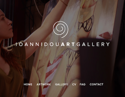 Website Ioannidou Art Gallery