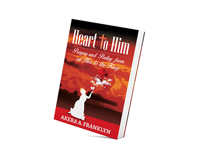 Heart To Him Book Cover Design
