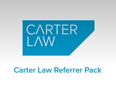 Carter Law Referrer Pack