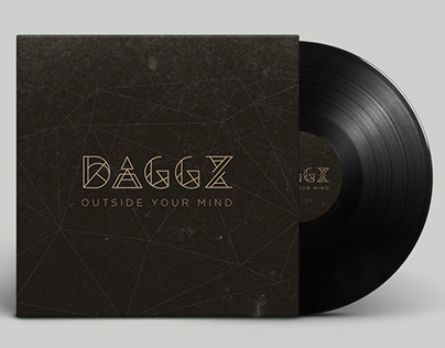DAGGZ Logotype and Album Cover