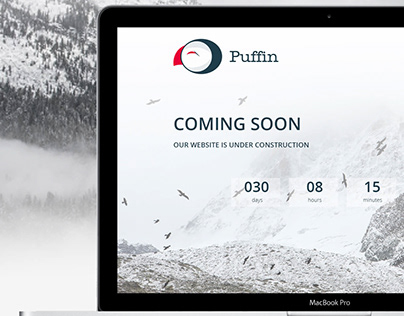 Puffin - Responsive Coming Soon Template HTML Free