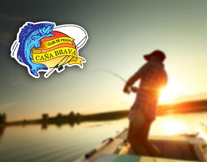 """Diseño del Logo del Club de Pesca """"Caña Brava"""""""