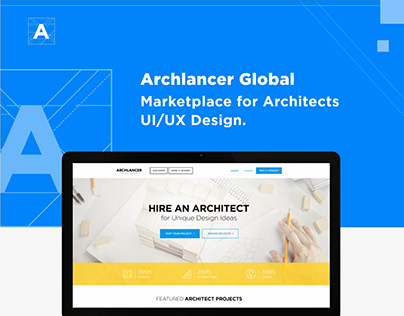 Website design - Marketplace for Architects